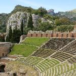 Nearby Greek theatre