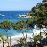 Beach to sister hotel Sant' Andrea
