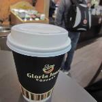 A Gloria Jeans coffee
