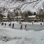 Skaters in the Park - Maine Street, Brunswick, Maine
