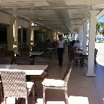 Thalassa Restaurant terrace