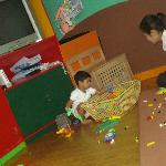 The children play room
