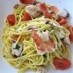 My favourite Dish - Home made Pasta with Seafood