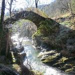 Le pont de Transgardon en hiver