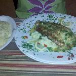 Pesto Grouper