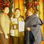 Heather, Carolyn, Mary(Clients and owner of the Body Natural Salon&Spa in Washington)