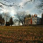 Late Autumn afternoon at The Ludlow Mansion