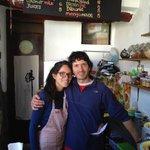 Wonderful Pedro & Cynthia-the owners of Prana