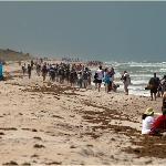 Rocket Launch at Playalinda Beach, 12 miles from Budget Motel