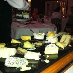 Cheese trolley - divine!