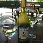 Organic chardonnay from Naughty Boy Vineyards