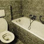 Bathroom. Quite clean.