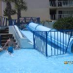 Sea Mist kiddie pool