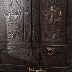 Porte des chambres