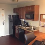 kitchenette in Standard room