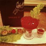 Awesome Bloody Mary with Oyster Shooter