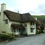 Royal Oak inn - the view as you approach