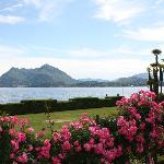 Looking across Lake Maggiore