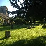 Nympsfield old churchyard