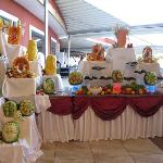 great food statues