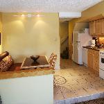 Queen Loft Suite Kitchen