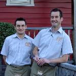 "Matt and Paul the proprietors  of the ""Dairy"""