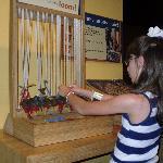 Weaving on the loom