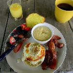 A delicious breakfast!