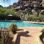 Golden Door Spa pool