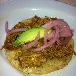 panucho!! please order it it's not on the menu!