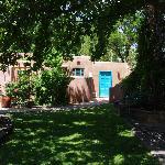 Garden and casitas