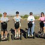 Classic Racers 11 & 23 on the Segway Tour of Havasu