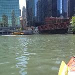 Chicago ,,, river level