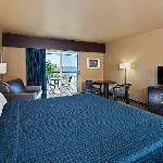 Riverview room with a King size bed