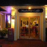 Mahina Cafe entrance