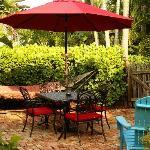 Key West Cottage Courtyard