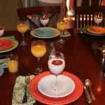 Family-style breakfast
