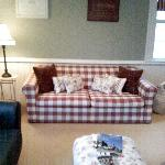 The chilly outside communal room