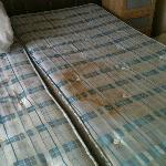 Stained mattress - absolutely DISGUSTING
