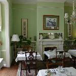 B&B Cuthbert House - Frühstücksraum