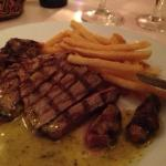 Juicy Entrecote cooked to my liking !! Very Tasty !