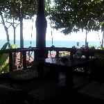 Blick vom Restaurantbereich aus