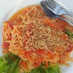 Som Tam - Papaya Salat (göttlich)