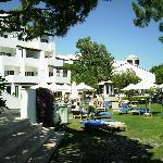 Hotel e jardim