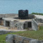 Parapet at Bermuda Maritime Museum