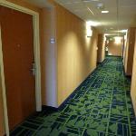 Hotel Interior Corridor