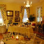Parlor Room turned Dining Room for a special occasion :-)