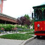 Trolley pick-up for our very happy Wedding Group...Congrats!