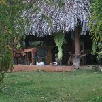 Communal hut.
