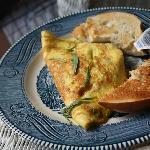 Tarragon Gruyere Omelette